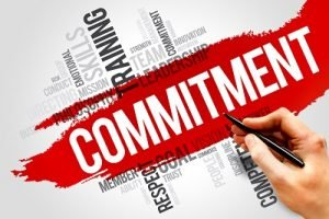 show commitment